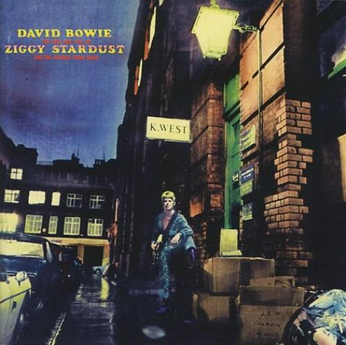 David Bowie The Rise And Fall Of Ziggy Stardust And The Spiders CD album (CDLP) UK BOWCDTH241606