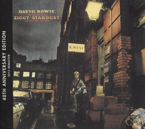 David Bowie The Rise And Fall Of Ziggy Stardust CD album (CDLP) UK BOWCDTH647131