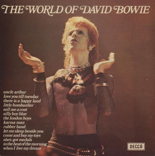 David Bowie The World Of David Bowie - Glossy Sleeve vinyl LP album (LP record) UK BOWLPTH739658