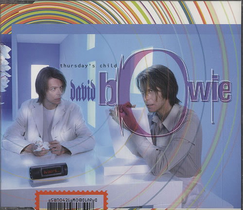 "David Bowie Thursday's Child - Four Track CD single (CD5 / 5"") Dutch BOWC5TH448346"