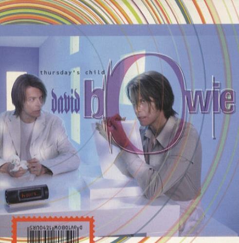 "David Bowie Thursday's Child CD single (CD5 / 5"") UK BOWC5TH145367"
