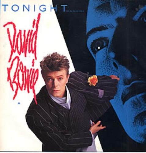 "David Bowie Tonight 12"" vinyl single (12 inch record / Maxi-single) UK BOW12TO20420"