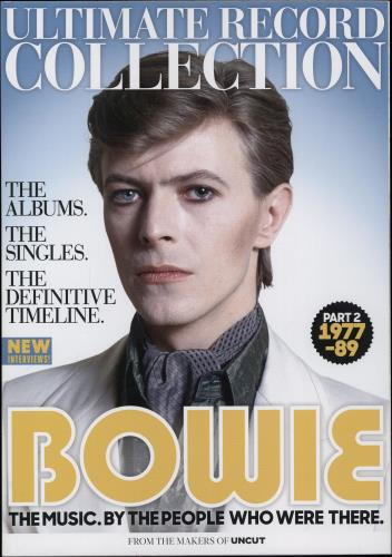 David Bowie Ultimate Record Collection - Parts 1 & 2 (1964-76 & 1977-89) magazine UK BOWMAUL765861