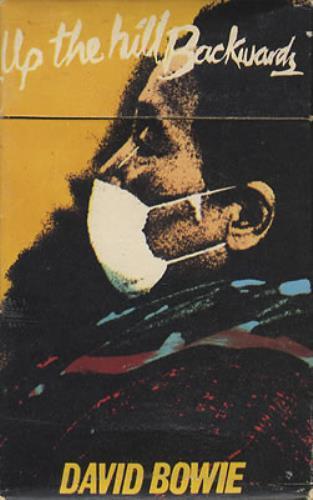 David Bowie Up The Hill Backwards cassette single UK BOWCSUP107367