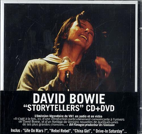 David Bowie VH1 Storytellers French 2-disc CD/DVD set (628417)