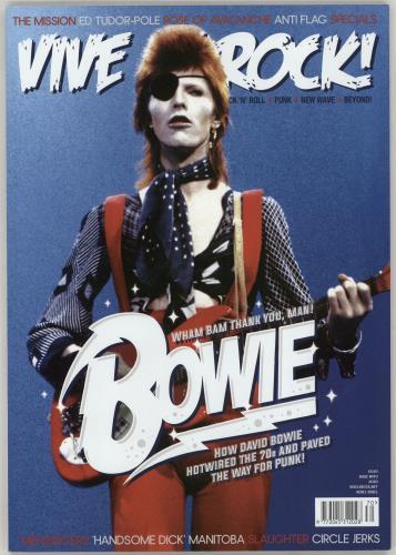 David Bowie Vive Le Rock magazine UK BOWMAVI765822