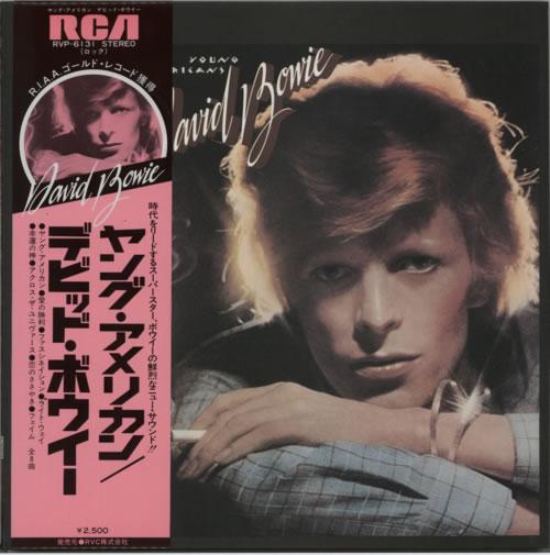 David Bowie Young Americans vinyl LP album (LP record) Japanese BOWLPYO167068