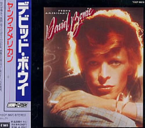David Bowie Young Americans CD album (CDLP) Japanese BOWCDYO232054