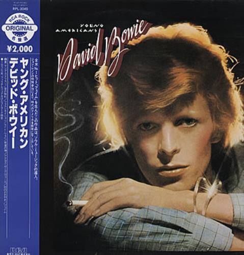 David Bowie Young Americans vinyl LP album (LP record) Japanese BOWLPYO314685