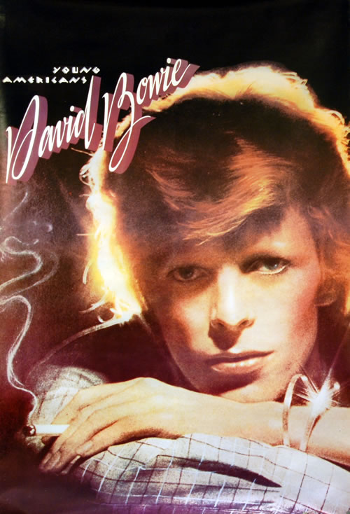 David Bowie Young Americans poster UK BOWPOYO631607