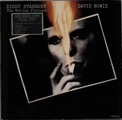 David Bowie Ziggy Stardust - The Motion Picture - stickered p/s 2-LP vinyl record set (Double Album) German BOW2LZI130230