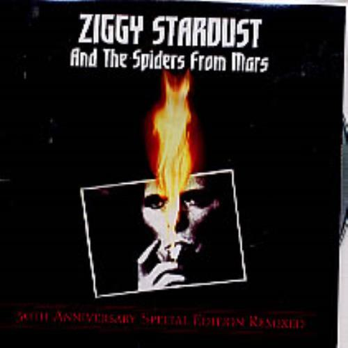 David Bowie Ziggy Stardust And The Spiders From Mars CD-R acetate UK BOWCRZI248971