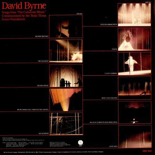 David Byrne Songs From 'The Catherine Wheel' vinyl LP album (LP record) UK BYNLPCA417316