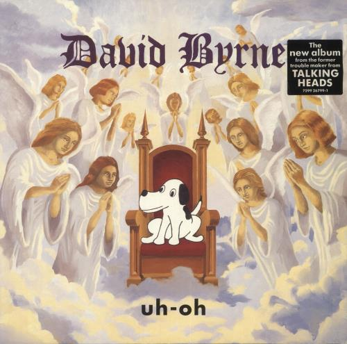 David Byrne Uh-Oh - EX vinyl LP album (LP record) UK BYNLPUH726543