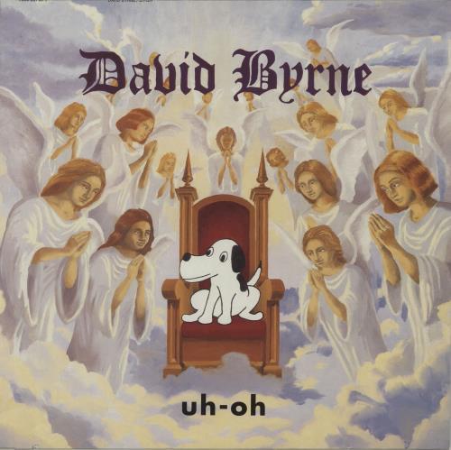 David Byrne Uh-Oh vinyl LP album (LP record) German BYNLPUH656998