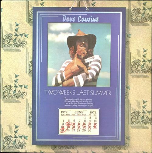 David Cousins Two Weeks Last Summer vinyl LP album (LP record) UK CUVLPTW513219