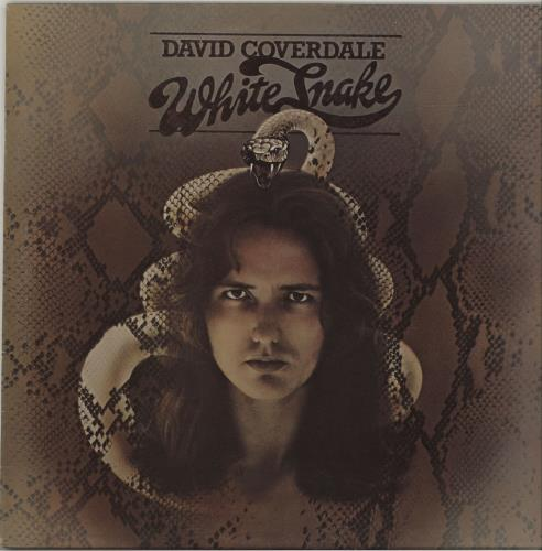 David Coverdale Whitesnake vinyl LP album (LP record) UK DCOLPWH392156