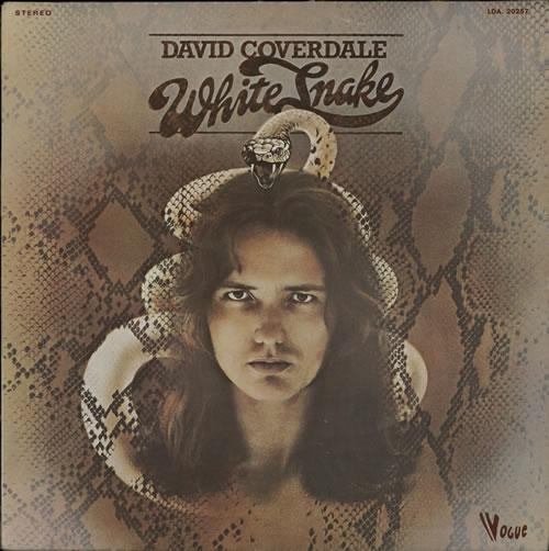 David Coverdale Whitesnake vinyl LP album (LP record) French DCOLPWH568202