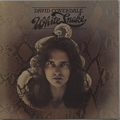 David Coverdale Whitesnake vinyl LP album (LP record) UK DCOLPWH672174
