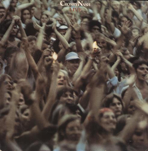 David Crosby & Graham Nash Live vinyl LP album (LP record) US C&NLPLI737865