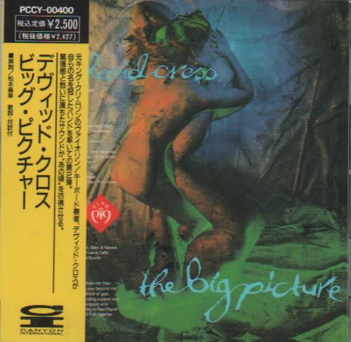 David Cross The Big Picture CD album (CDLP) Japanese F10CDTH653931