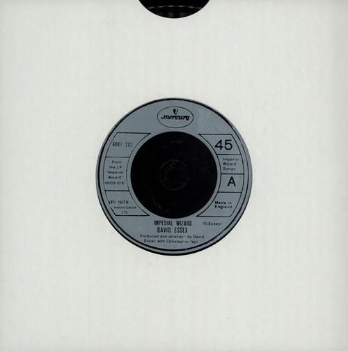 "David Essex Imperial Wizard 7"" vinyl single (7 inch record) UK ESS07IM575461"
