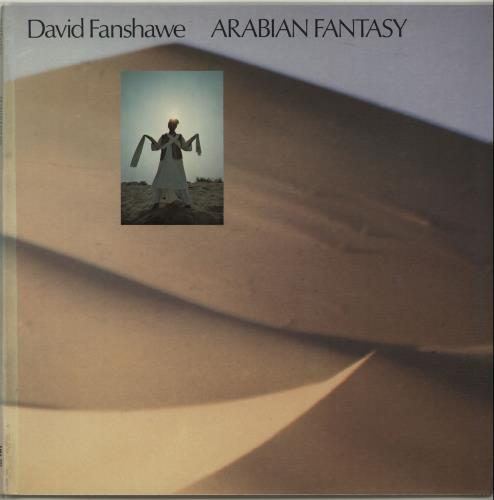 David Fanshawe Arabian Fantasy - Factory Sample vinyl LP album (LP record) UK D41LPAR655687
