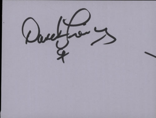 David Freiberg Page From An Autograph Book memorabilia UK E-2MMPA603883
