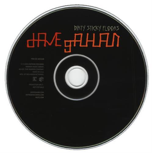 "David Gahan Dirty Sticky Floors CD single (CD5 / 5"") US DGNC5DI248481"