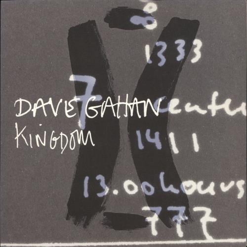 "David Gahan Kingdom 12"" vinyl single (12 inch record / Maxi-single) UK DGN12KI418418"