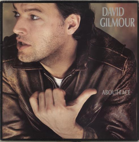 David Gilmour About Face - 2nd - EX vinyl LP album (LP record) UK DGLLPAB707822