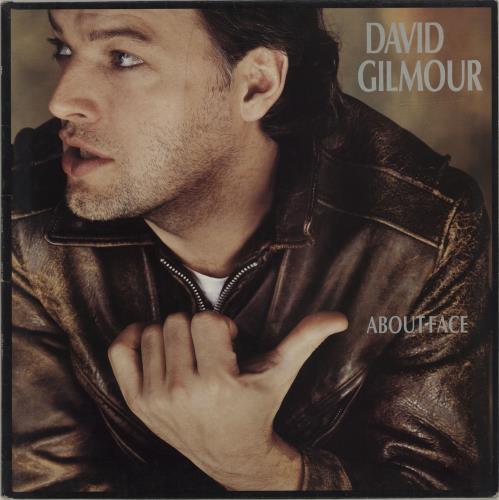 David Gilmour About Face - EX vinyl LP album (LP record) UK DGLLPAB679523
