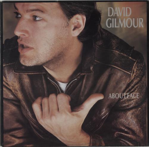 David Gilmour About Face - Sample vinyl LP album (LP record) Australian DGLLPAB73767
