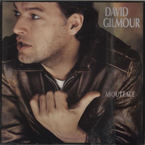 David Gilmour About Face - shrink vinyl LP album (LP record) US DGLLPAB685315