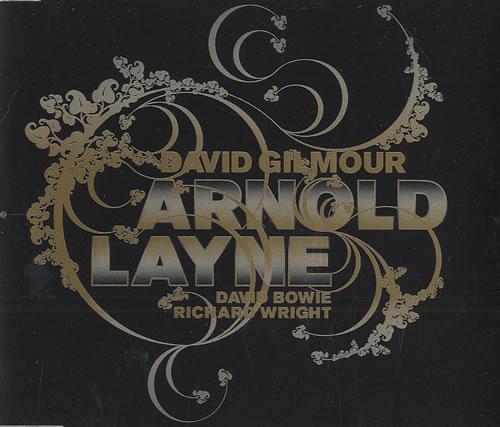 "David Gilmour Arnold Layne CD single (CD5 / 5"") UK DGLC5AR383094"
