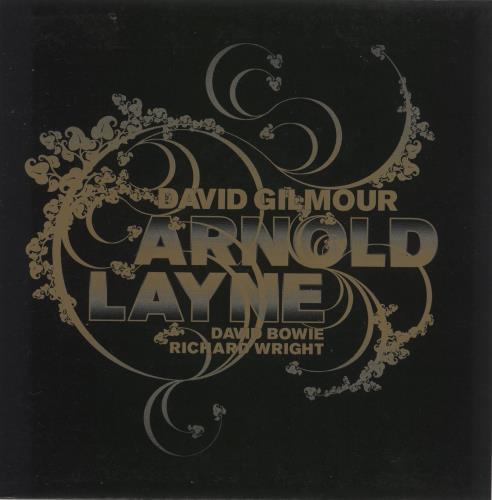 "David Gilmour Arnold Layne 7"" vinyl single (7 inch record) UK DGL07AR383096"