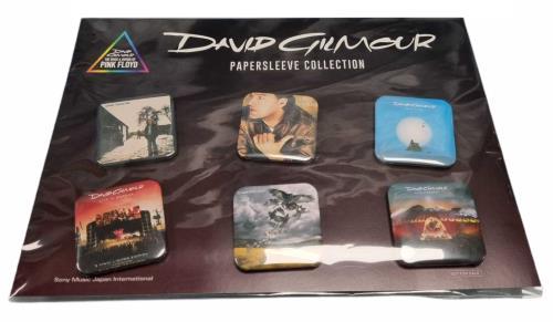 David Gilmour Blu-Spec Album Bundle + Badges Blu-Spec CD Japanese DGLBSBL769982