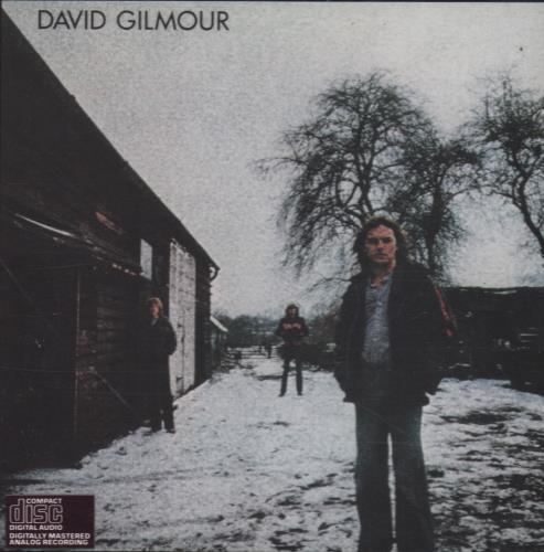 David Gilmour David Gilmour CD album (CDLP) US DGLCDDA667384