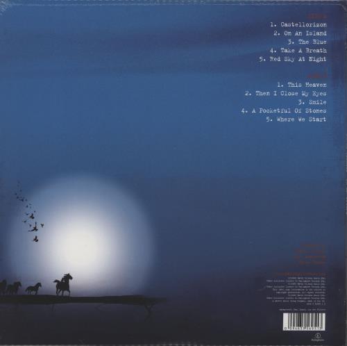 David Gilmour On An Island - Sealed vinyl LP album (LP record) UK DGLLPON759100