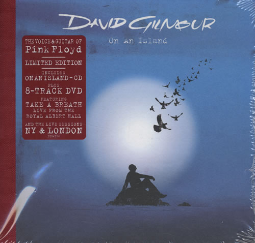 David Gilmour On An Island Special Edition Sealed Uk 2