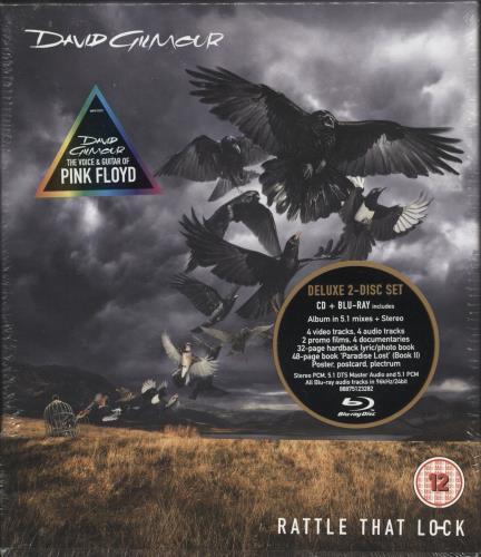 David Gilmour Rattle That Lock - Blu-ray - Sealed Boxset CD Album Box Set UK DGLDXRA722851