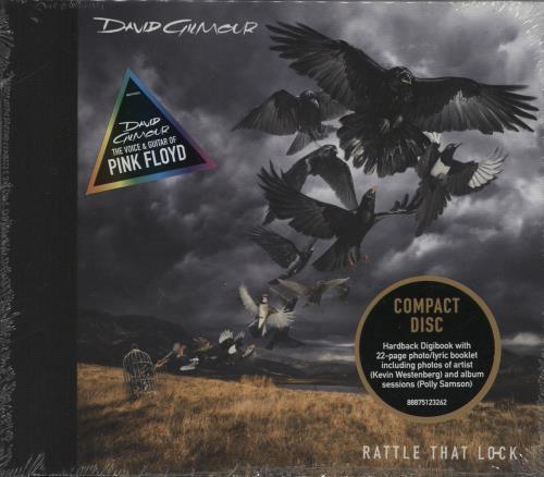 David Gilmour Rattle That Lock: Sealed Digibook CD album (CDLP) UK DGLCDRA763378