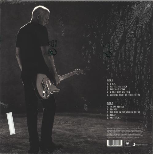 David Gilmour Rattle That Lock vinyl LP album (LP record) UK DGLLPRA716812