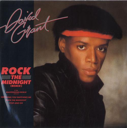"David Grant Rock The Midnight - Remix 7"" vinyl single (7 inch record) UK D.G07RO565653"
