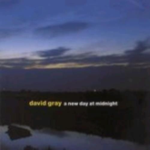 David Gray A New Day At Midnight CD album (CDLP) Japanese DGRCDAN230020