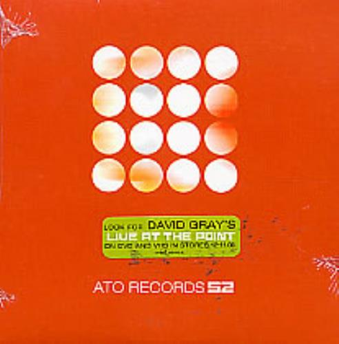 "David Gray ATO Records S2 CD single (CD5 / 5"") US DGRC5AT216699"