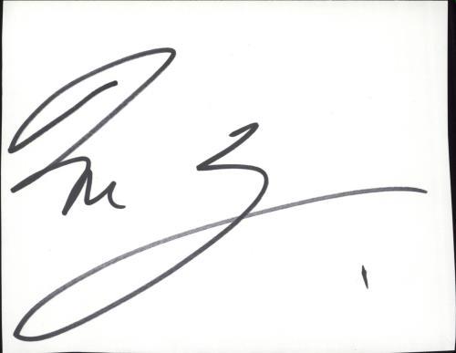 David Gray Autograph memorabilia UK DGRMMAU717638