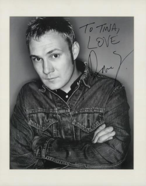 David Gray Autographed Poster memorabilia UK DGRMMAU591590