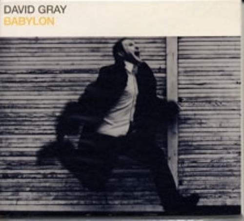 "David Gray Babylon CD single (CD5 / 5"") UK DGRC5BA158901"