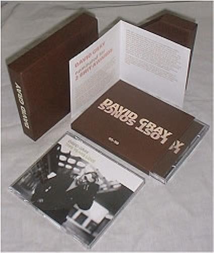 David Gray Lost Songs 95-98 - Promo Box Set CD Album Box Set UK DGRDXLO176134